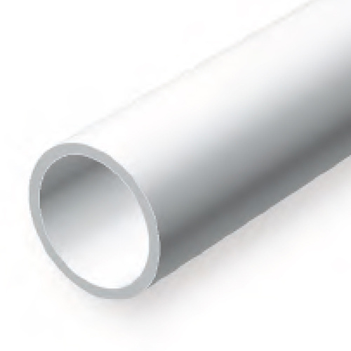 EVERGREEN 224 35CM PLASTIC TUBE .125 (PACK OF 5)