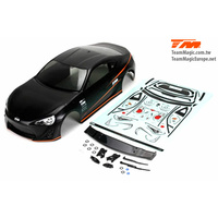 Pre-painted Body Shell (Black) E4D 86